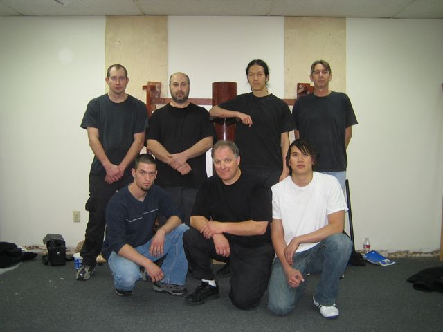 Wing Chun Boxing Academy Class Photo